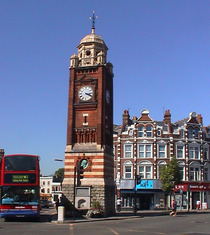 Crouch End Clock Tower & Henry Reading Williams