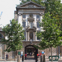 Henry VIII entrance to St Bartholomew's Hospital