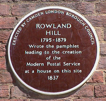 Rowland Hill - WC1