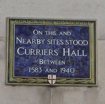 Curriers&#x27; Hall