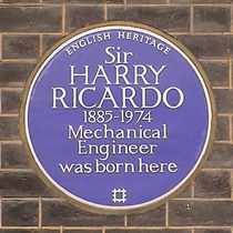 Sir Harry Ricardo