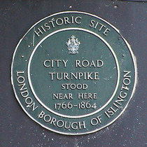 City Road turnpike