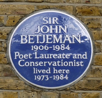 Sir John Betjeman - SW3