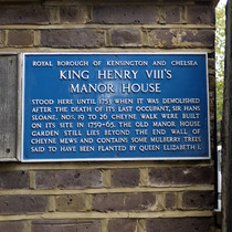 Henry VIII's Manor House - Cheyne Walk
