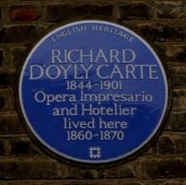 Richard D'Oyly Carte - NW5