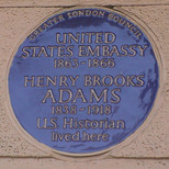 US Embassy & Brooks Adams