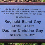 Reginald &amp; Daphne Goy