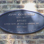 John Constable in Hampstead