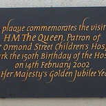 Great Ormond Street Hosp. - 150 Anniversary