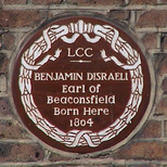 Disraeli in WC1