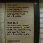 King's Cross war memorial