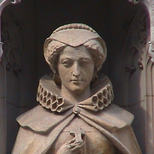 Mary Queen of Scots statue