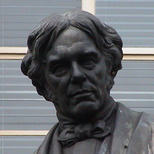 Michael Faraday statue