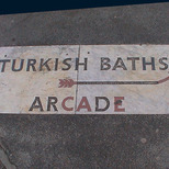 Turkish baths in Russell Square