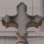 Hackney Town Hall Cross