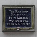Milton in Bread Street