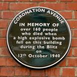 Coronation Avenue bombing