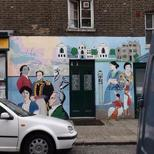 Fitzrovia local mural