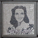 South Bank mosaic - Vivien Leigh