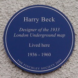 Harry Beck - home