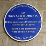 Sir Henry Cooper - SE1