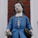 St Mary Rotherhithe - charity boy
