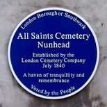 All Saints Cemetery Nunhead