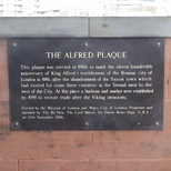 The Alfred Plaque