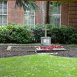 Bethnal Green Library war memorial