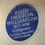 Ralph Vaughan Williams - NW1