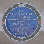 County Hall - London government