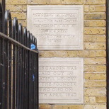Florence Keen - 2 stone plaques
