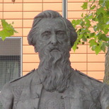William Booth bust
