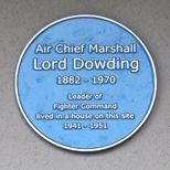 Air Chief Marshal Dowding - SW19 - 1