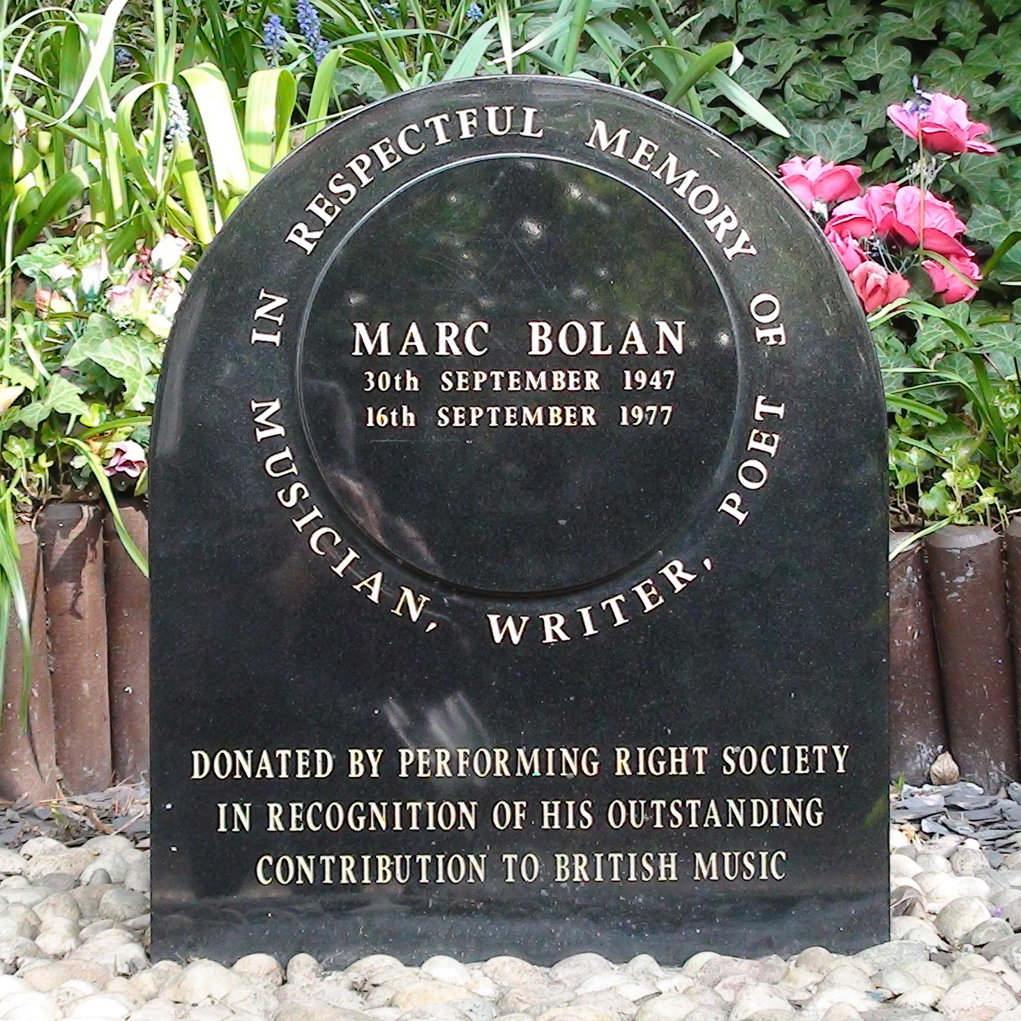 Marc Bolan Shrine Prs London Remembers Aiming To